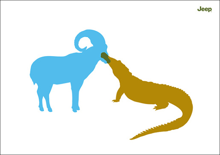 mountaingoat&crocodile